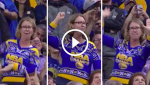 This Woman Dancing At An NBA Game Will Make You Laugh For Days