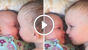 His Baby Sister Started Crying, So He Did The Perfect Thing To Calm Her Down